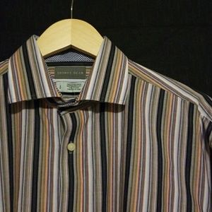 Thomas Dean Dress Shirt L